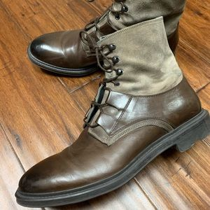 Abbott Dark Brown Boots From, To Boot New York